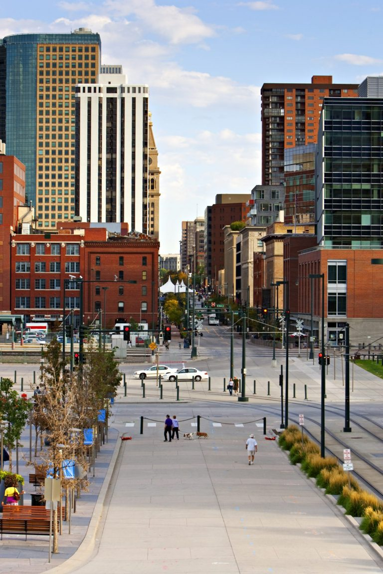 Photo of the surrounding neighborhood, Larimer Square, in Denver CO